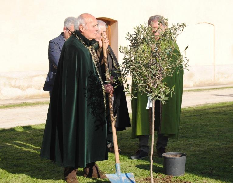 Il Presidente Sergio Bartoccioni al lavoro