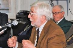 Il relatore Prof. Lino Conti docente universitario