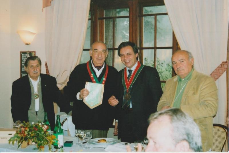 2006 scambio di omaggi con il Sagrantino
