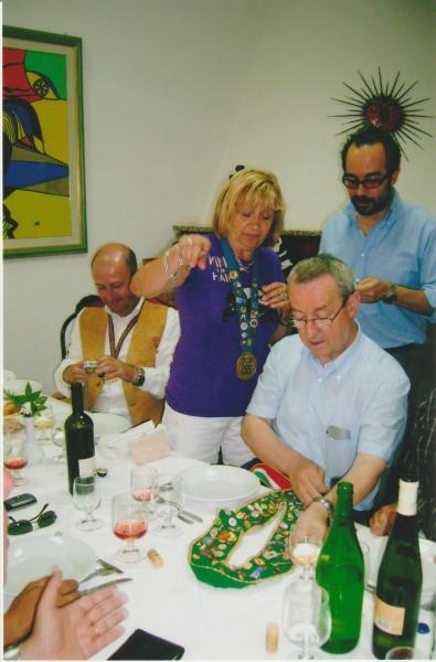 Anna Moroni Santagiuliana Sussarello ad Alghero