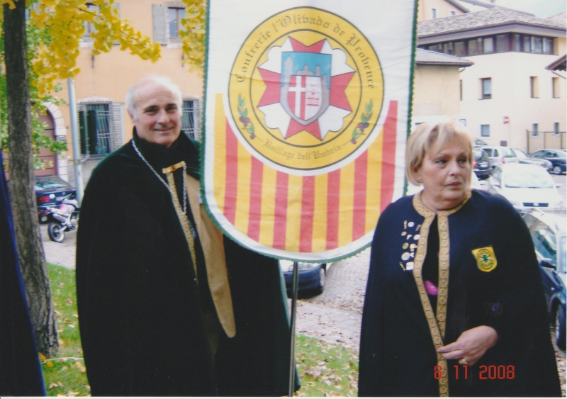Sergio e Rossana al raduno a Trento